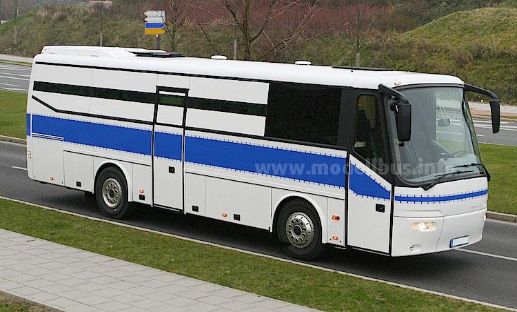 Grüne Minna auf VDL-Basis. Der Futura war der letzte seiner Art, jetzt setzt Ludewig als Hersteller auf Omnibusse von Van Hool.