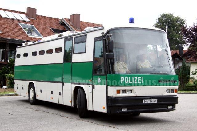 Nur in Bayern ist die Polizei noch für die Verschubung zuständig, dementsprechend sind die GTO-Fahrzeuge grün-weiß lackiert.