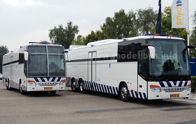 Setra hat zwei S 417 UL für die Niederlande als Gefangenentransporter ausgeliefert.