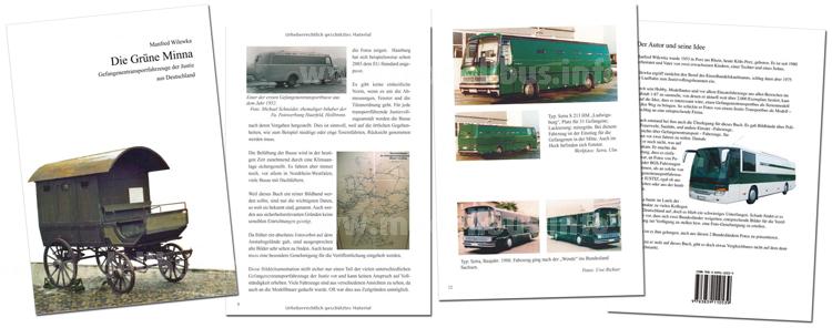 Einen Bildband über Fahrzeuge, mit denen Gefangene transportiert wurden und werden, hat der ehemalige Justizvollzugsbedienstete Manfred Wilewka herausgebracht.