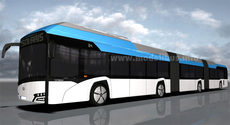 Solaris Urbino 24m Doppelgelenkbus - Omnibus News