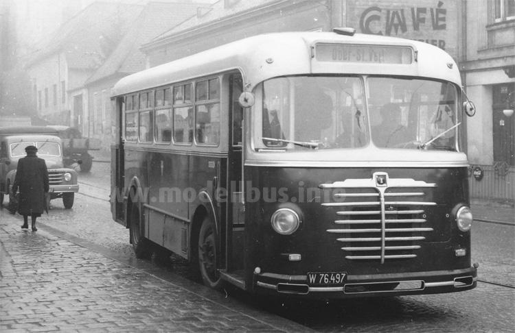 Einer der von Gräft & Stift für Wien gebauten TS U5 Busse.