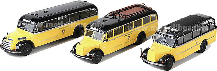 Postbusse aus Österreich
