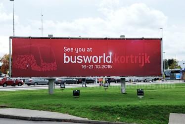 Busworld Kortrijk ausgebucht