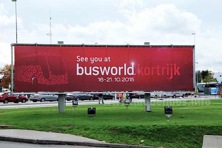 Im Oktober ein Muss: Der Besuch der Busworld im belgischen Kortrijk.
