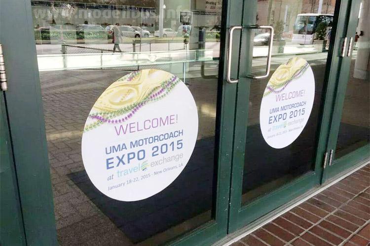 Türen zu, die UMA Expo in New Orleans ist beendet.