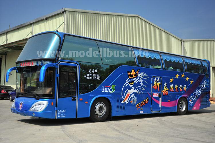 Mit Scania-Basis auf Erfolgskurs: Der taiwanesische Aufbauer Boshen.