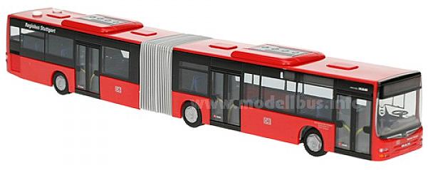 Der MAN Lions City Gelenkbus der Regiobus Stuttgart.