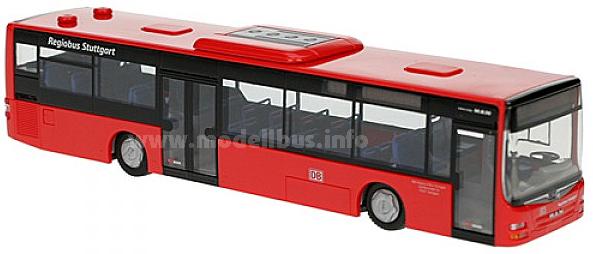 Neu im Bahnshop: Zwei MAN-Modellbusse der Regiobus Stuttgart.
