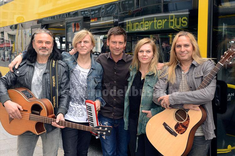 Zum Interview kam Anna Loos mit ihrer Band namens Silly, die Ende der 70er Jahre in Ost-Berlin gegründet wurde. Fotos: RBB