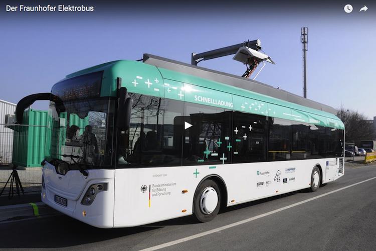 Spannend: Rein elektrisch durch Dresden