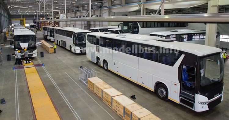 Scania in Indien: Langfristig werden hier auch Busse für den Export gebaut.