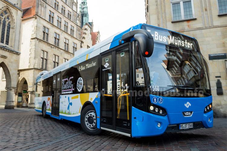Münster setzt auf VDL und fährt schon elektrisch.