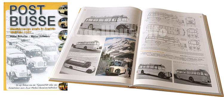 Sieben Jahre intensive Arbeit: Das Ergebnis ist ein Meisterwerk und wird das Standardwerk über Postbusse.