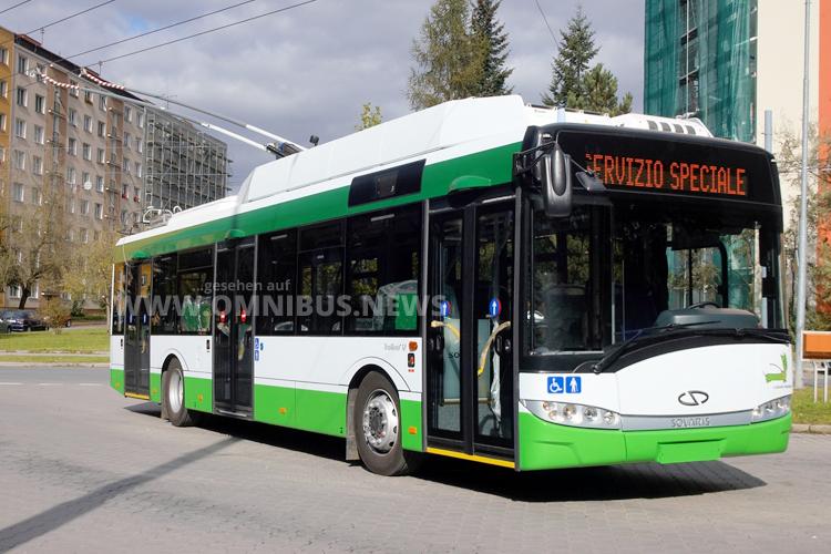 Trolleybusse für Sardinien