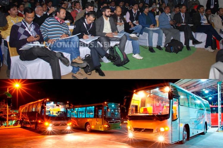 Hybridbusse für Indien