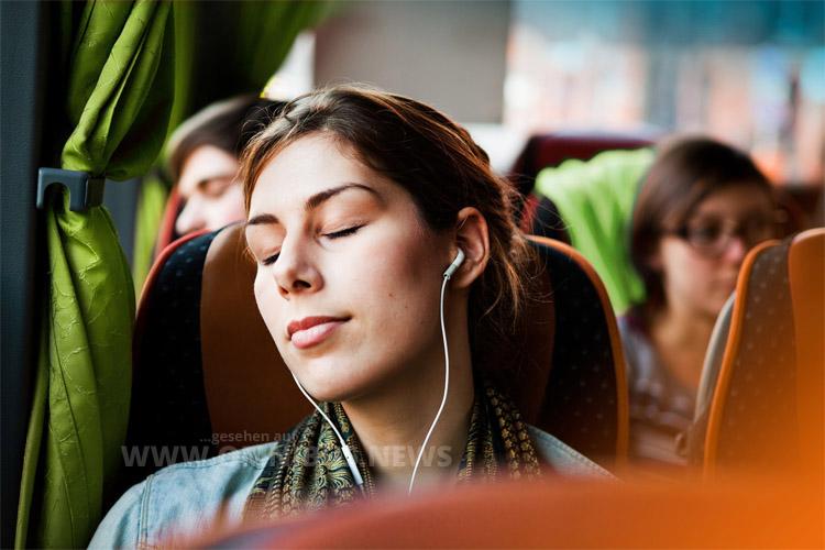Ab sofort gibt es im grünen Fernbus Musik gratis von Spotify.