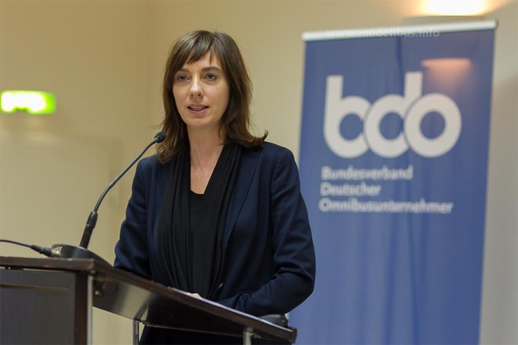 Christiane Leonard, Hauptgeschäftsführerin des bdo. Foto: bdo
