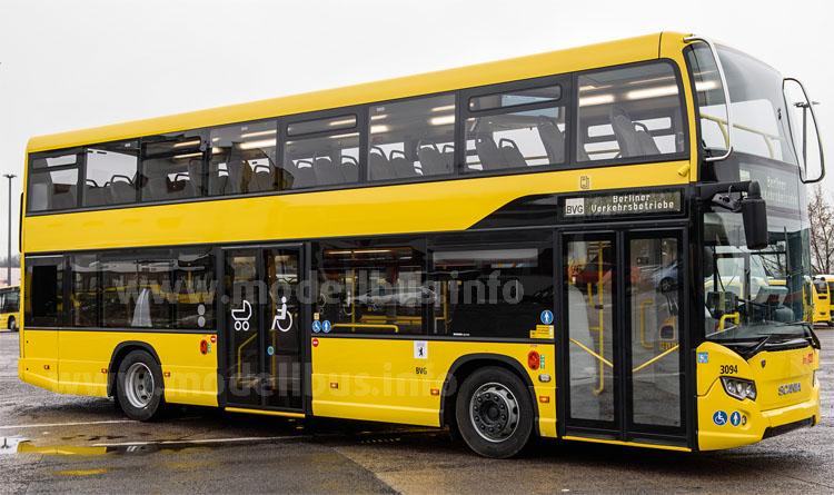 Bewährungsprobe in Berlin: Der neue Scania Citywide LF Doppeldecker.
