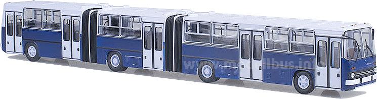 Mit 22,5 Metern der längste Ikarus-Bus. Auch als Modell mit fast 50 Zentimetern beeindruckend.