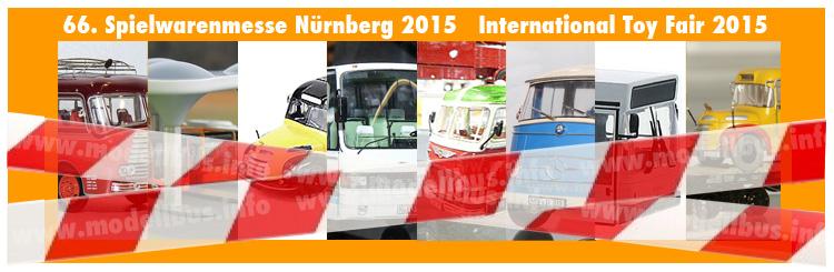 In Kürze online: Der Messebericht mit den Modellbusneuheiten 2015.