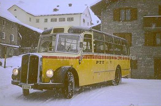 Saurer LC 4 - Das Vorbild für den Modellbus im Maßstab 1/87 von Arwico.