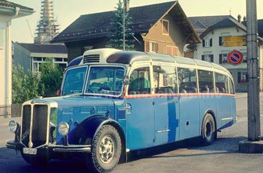 FBW LC 4 - Das Vorbild für den Modellbus im Maßstab 1/87 von Arwico.