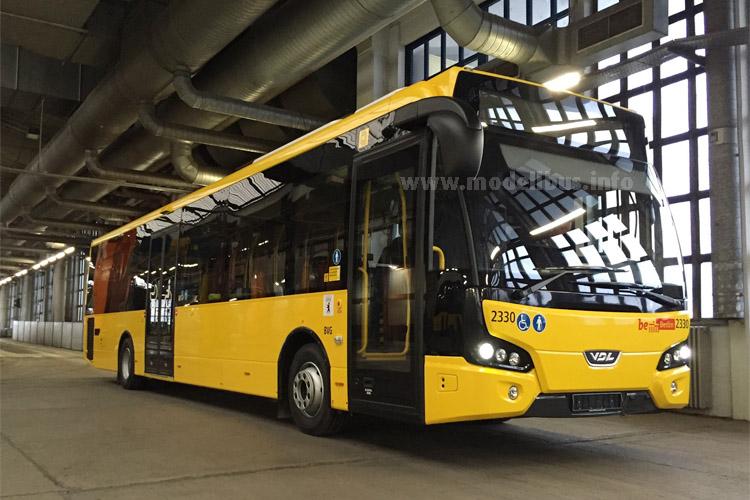 Die ersten VDL Citea LLE sind an die BVG in Berlin ausgeliefert worden.