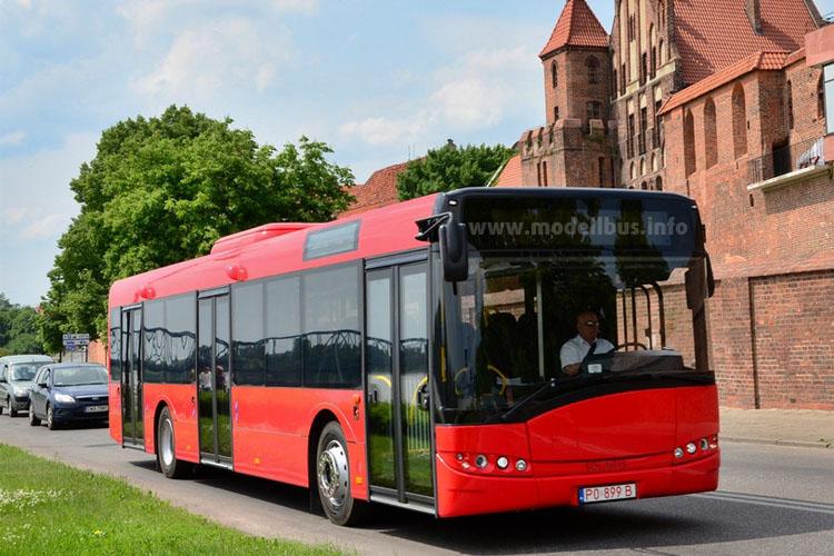 Solaris Urbino 12: 70 Fahrzeuge werden nach Rumänien an den Verkehrsbetrieb SC Publitrans 2000 SA geliefert.