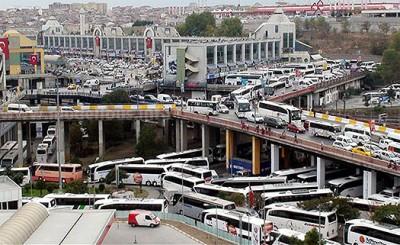 Der größte Busbahnhof Europas