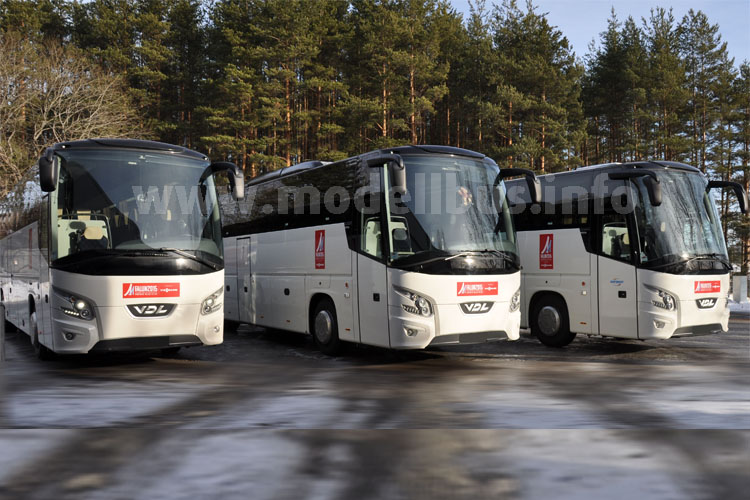 Shuttlebusse der Sportler und Zuschauer: Futura FMD2 von VDL.