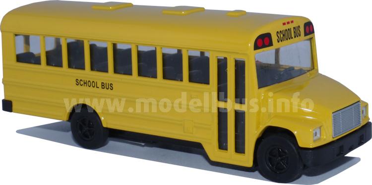 Neu von Welly und jetzt ausgeliefert: Ein Schulbus nach amerikanischem Vorbild.