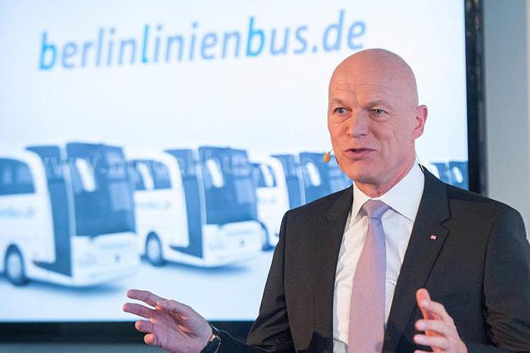 """Ulrich Homburg: """"Wir wollen den Markt der Fernbusse nicht einem marktbeherrschenden Anbieter überlassen."""""""