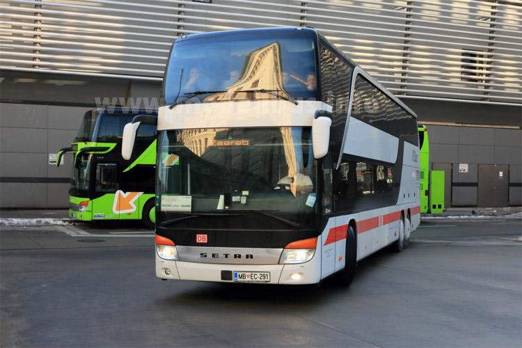 Bahn will Fernbusse bis 2016 vervierfachen