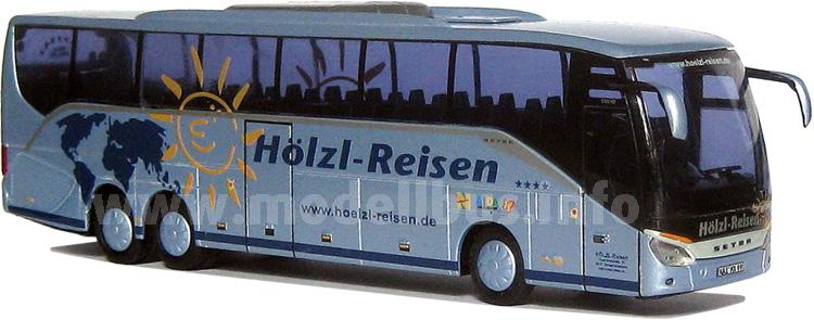 Neu im Fuhrpark von Markus Hölzl: Ein Setra S 516 HD.