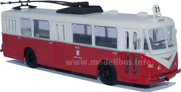 Von Frankreich in alle Welt: Der Trolleybus von Vetra.