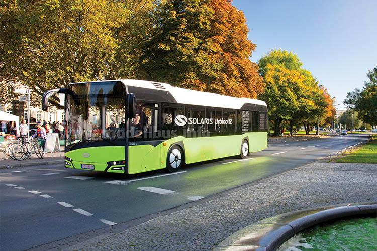 Hat schon zwei Design-Preise eingefahren: Der neue Solaris Urbino.