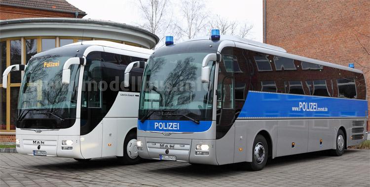 Neue Polizei-Busse