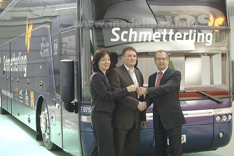 2009 wurde der erste Altano in Belgien abgeholt - beeindruckend: Knapp 19 Kubikmeter für Gepäck.