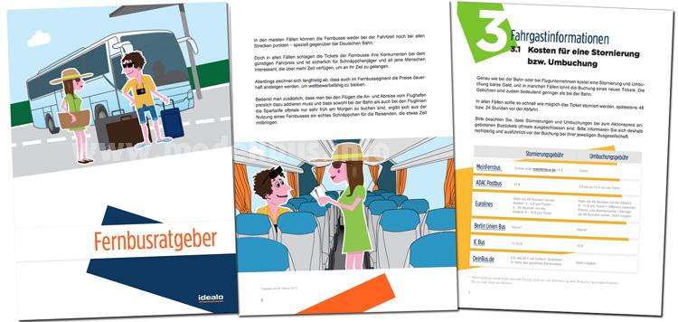 Fernbus-Ratgeber mit Tipps und Übersichten von Idealo.