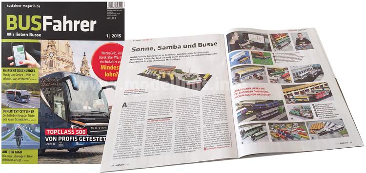 Ab sofort am Kiosk und online erhältlich: Der BUSFahrer 1/15.