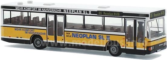 Neu im Neoplan-Shop: Der N 416 SL II im Vorführdesign.