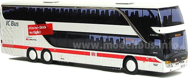 Neues Sondermodell: Der S 431 DT von AWM als IC Bus in der SBB-Ausführung.