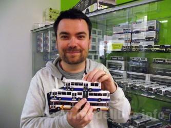 Modellbusse aus Resin