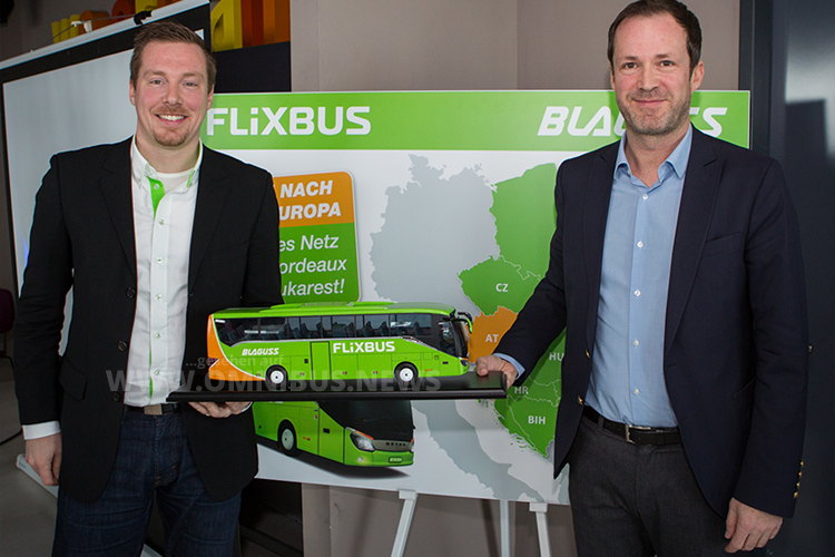 FlixBus expandiert in Osteuropa.