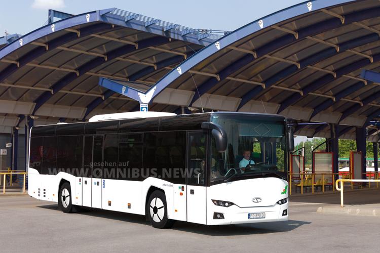Solaris liefert 300 InterUrbino nach Italien.