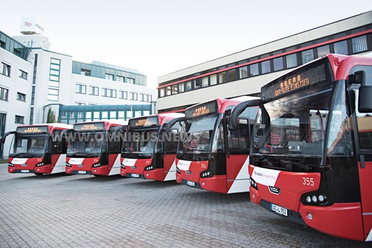 Leichtbaubusse für Aachen