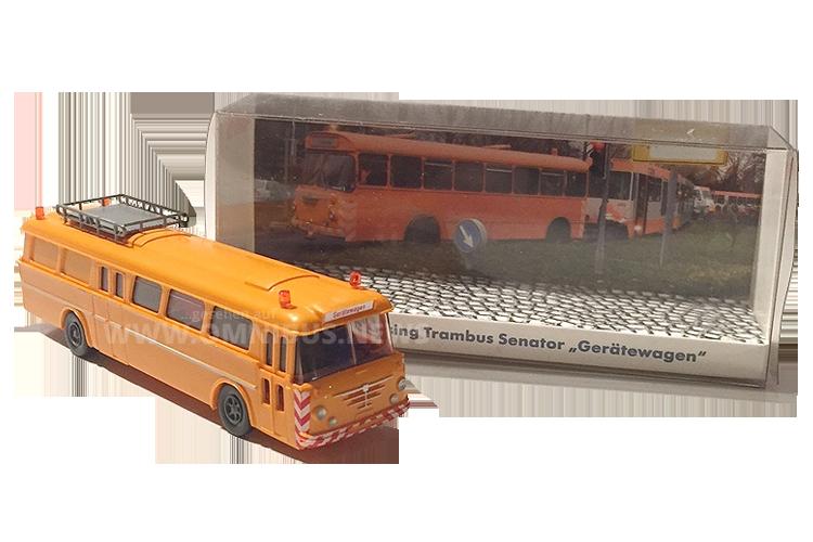 Büssing-Gerätewagen auf Wiking-Basis im Maßstab 1/87.