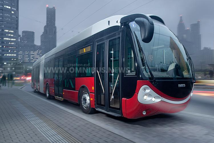 Skoda Iveco Crealis Neo Trolleybus für Bologna. Foto: Skoda
