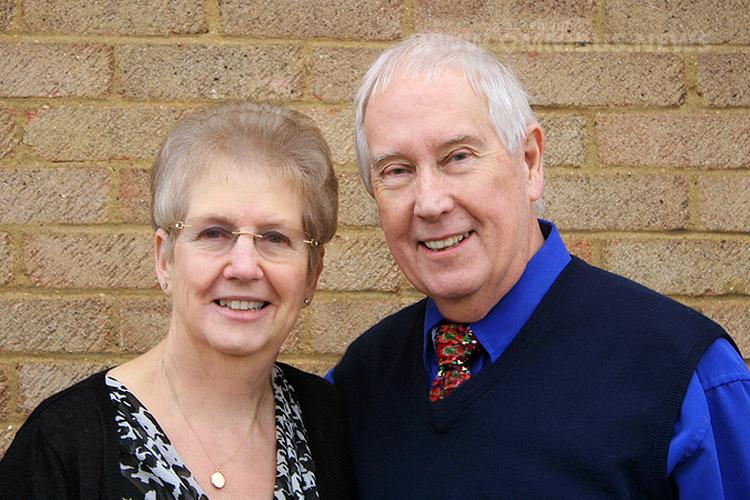 Brenda und Frank Joyce freuen sich auf die Besucher am 19. März. Foto: EFE